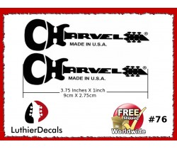 Charvel Guitar Decal #76