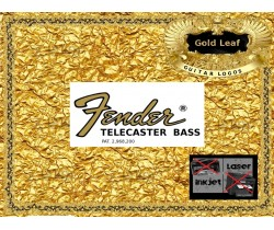 Fender Telecaster Bass Guitar Decal #41g