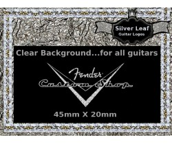 Fender Guitar Custom shop Decal Gold #56s
