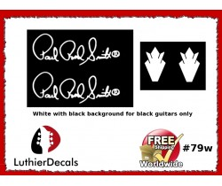 Gibson Decal Paul Reed Smith Guitar Decal #79w