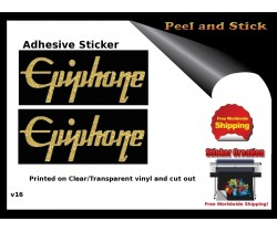 Epiphone Guitar Decal v16